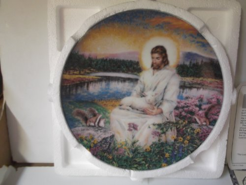 The Lord Bless You.. Garden of the Lord Collection Plate Jesus Collector Plate