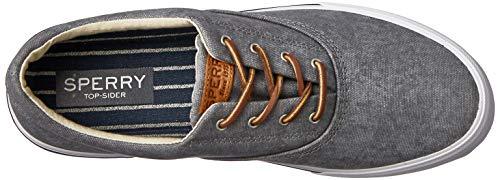 uomo Top Grigio Sperry Sneakers grigio Striper Ii 80 Cv Washed Grey sider da zwwvHqd