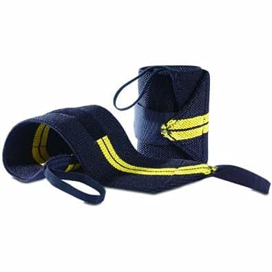CAP Barbell Wrist Wrap with Thumb Loop, Pair