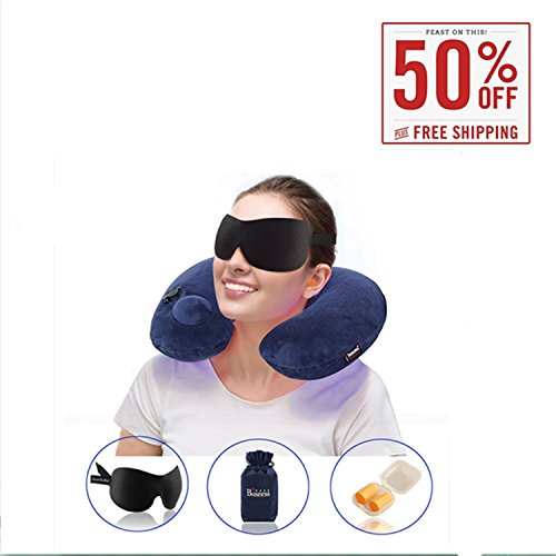 Whalek Inflatable Travel Pillow Support product image