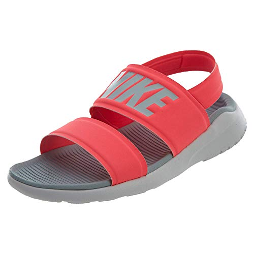 Nike WMNS Tanjun Sandal Mens Fashion-Sneakers 882694-601_11 - Solar RED/Light Pumice-Pure Platinum