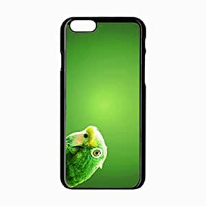 iPhone 6 Black Hardshell Case 4.7inch parrot beak background Desin Images Protector Back Cover