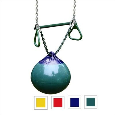 Gorilla Playsets Buoy Ball with Trapeze Bar Color: Green by Gorilla Playsets