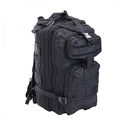 New Leaf 30L Waterproof Sport Outdoor Backpack Hiking Bag Rucksack Black