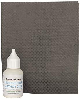 COLOURLOCK Leather & Suede Glue Kit | Repair tears, holes and rips | Car interior, furniture, apparel, shoes, bags and accessories | 20 ml +