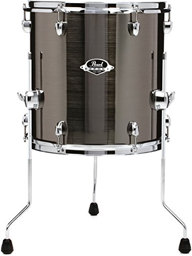 Pearl Export EXX Floor Tom - 14 Inches X 14 Inches, Smokey Chrome (Pearl Export Review)