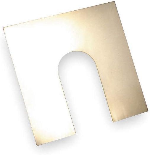 Maudlin Products MSH005 - ステンレススチール製スロットシム 厚さ0.0050 トレードサイズ:H