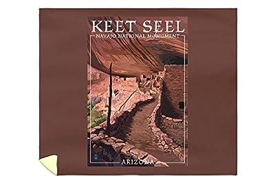 Navajo National Monument, Arizona - Keet Seel (88x104 King Microfiber Duvet Cover)