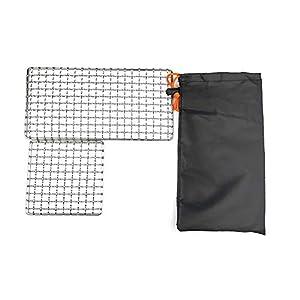 304 Edelstahl Grillnetz, Backblech, Grill Mesh Outdoor Camping Topfhalter, Mini Outdoor Grill, Camping Grill Gadgets…