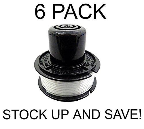 KHY Pack de 6 bobinas de Repuesto para cortacésped Black ...