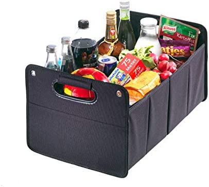 CB Präsentwerbung GmbH Kofferraumtasche aus Polyester mit sehr stabilem Boden, Car-Organizer, Auto-Klappbox, Kofferraumbox Faltbox Organizer Autobox