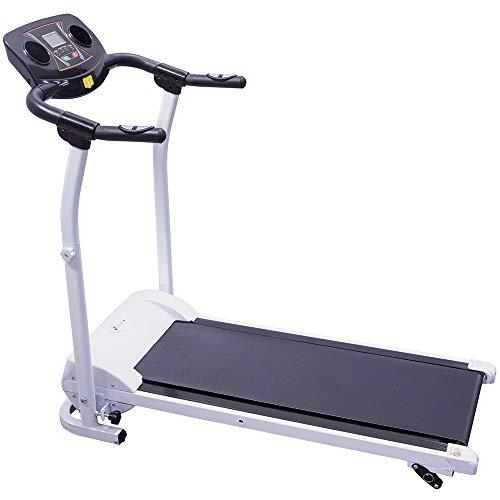 CENTURFIT Caminadora Electrica Plegable 3 Inclinaciones Excelente Calidad Cardio Pantalla LCD Facil Uso 1.5 HP Gym