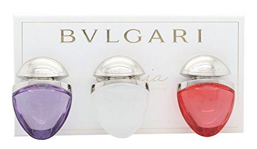 Bvlgari Omnia Collection Jewel Charm Coffret Gift Set 0.5oz (15ml) EDT Omnia Crystalline + 0.5oz (15