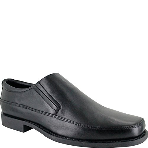 ambre Made by Mens Shoe Sport Loafer Black Black