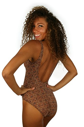 11c7aab50b Lifestyles Direct Tan Through One Piece Swimsuit With Underwire Support