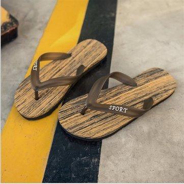 931aaf06a2fd  quot Summer Men Women Casual Stripes High Elastic Clip Feet Beach Cool  Slippers Flip Flops