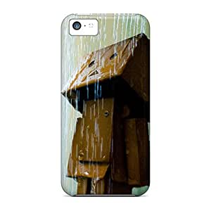 Sanp On Case Cover Protector For Iphone 5c (danbo In Shower)