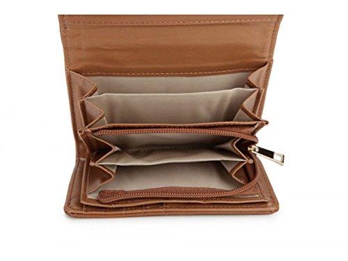 LeahWard® Geldbörse Zum DamenDamen Qualität Kunstleder Boxed Geldbörse Tasche Brieftasche Münze Kupplung Handtasche Für Sie CWVKP1323 VKP1326 CWBLA1036 CWBLA1039 CWBLA009 CWB011637 Klein Größe-Apricot BYX44