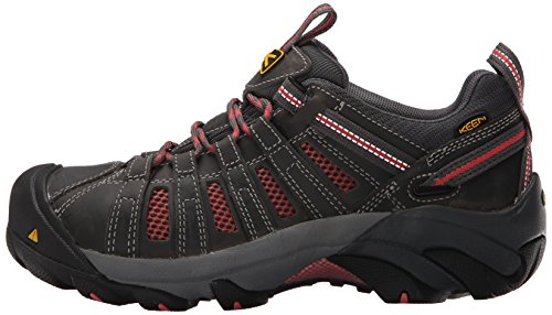 Pictures of KEEN Utility Women's Flint Low Work Shoe Drizzle/Surf Spray 5