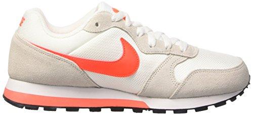 2 Orng Mujer Ttl Nike Phntm de Runner Wmns White Crmsn para Gimnasia Md Lsr Zapatillas Bianco wCxfp