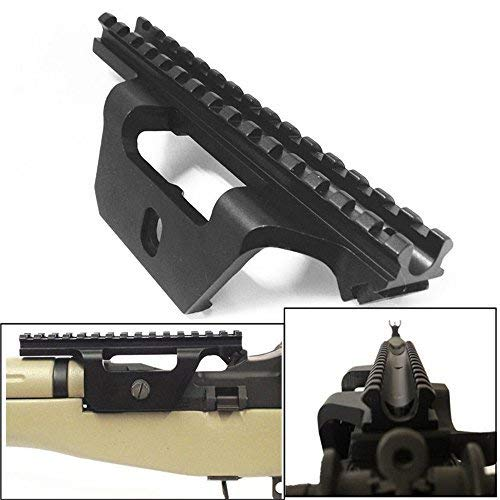 New Generation Locking Deluxe M14/M1a Scope Mount Mil Spec Light Weight One Piece Design (M14 Rifle Parts)