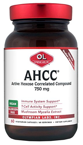 Cheap Olympian Labs Ahcc, 750mg, 60 Capsules