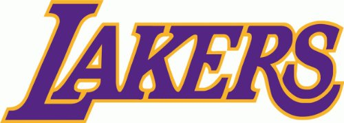 Los Angels Lakers NBA Basketball Bumper Sticker 6