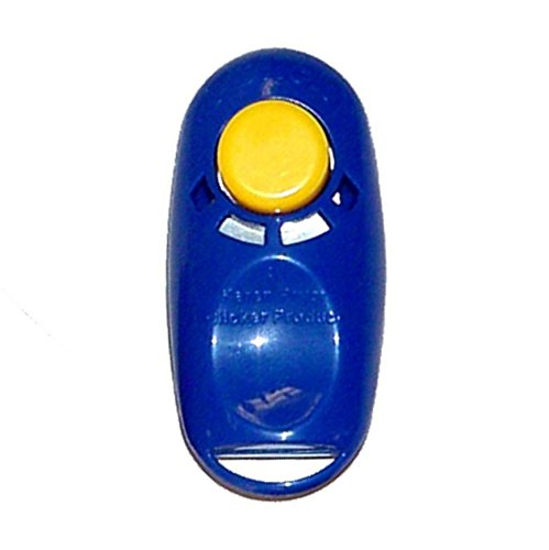 i-Click Karen Pryor Clicker Product - blau