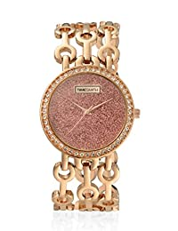 TimeSmith Limited Edition Copper Dial Rose Gold Metal Watch for Women TSM-109