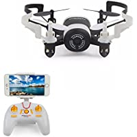 Mini Drones with Camera live video Rc Quadcopter with Live Camera For Kids Live view Compatible iphone and Android Smartphone