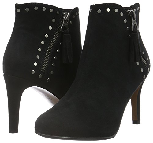 Boots 25323 Ankle 1 oliver black Black S Women''s gC8Awgq