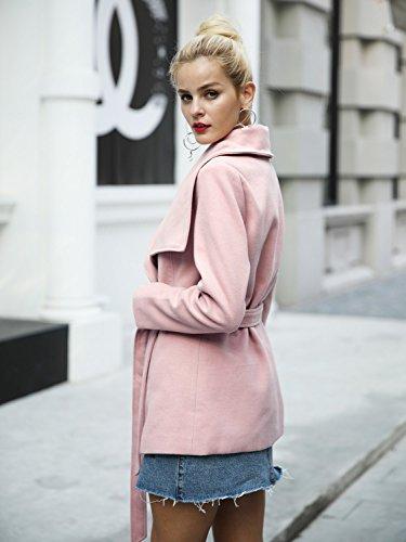 Simplee-Womens-Wool-Blend-Turn-Down-Collar-Short-Jacket-Coat-Outwear-with-Belt