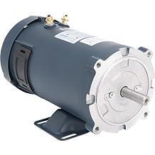 LEESON 12 Volt DC Motor - 3/4 HP, 1750 RPM, Model# 108048