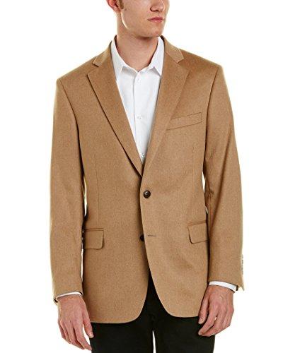 Mens Camel Hair (Brooks Brothers Mens Regent Fit Camel Hair Sportcoat, 44R, Brown)