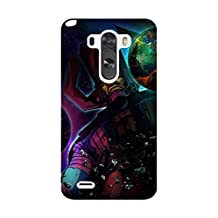 LG G3 Case, [Drop Protection] Scratch Resistant Perfect-Fit Shock Absorbing Non-Slip Game Ultimate Marvel Vs. Capcom 3 Hard Armor Case Design By [Alex Alina]