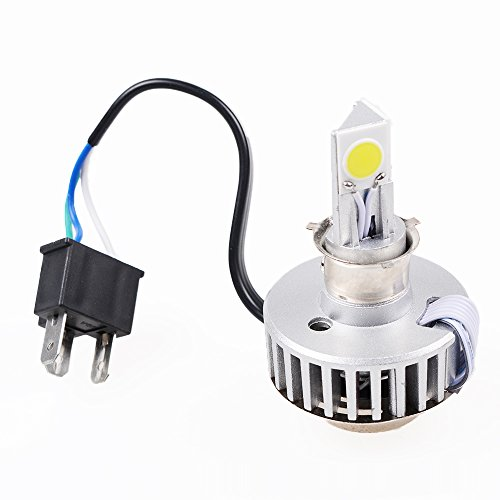 Xenon White 6000K High Low Beam H4 HB2 9003 Motocycle COB LED Headlight Bulb Kit