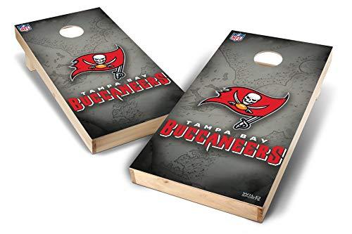 PROLINE NFL Tampa Bay Buccaneers 2'x4' Cornhole Board Set - Wild Design
