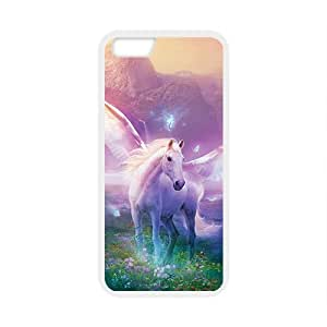 Angel abstract white horse Case for Iphone 6 by supermalls