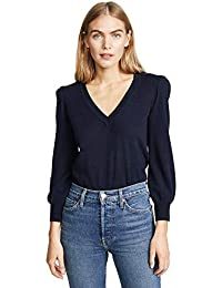 Women's Puff Sleeve Cashmere Sweater