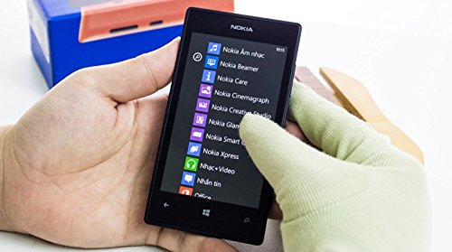 Nokia Lumia 525 8GB Black Factory Unlocked GSM - International Version phone - No Warranty