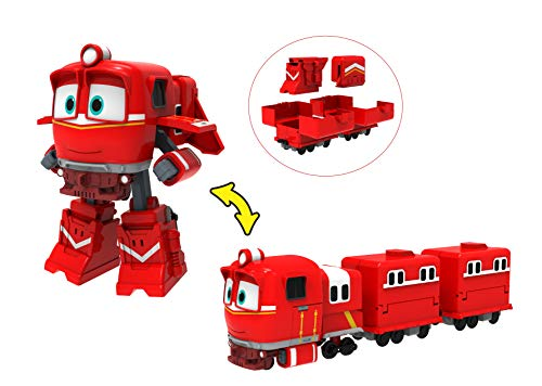ROBOT TRAINS- Deluxe Transformable Figurine ALF-80185, 80185, NC
