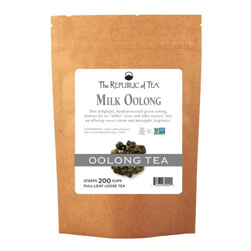 The Republic Of Tea Milk Oolong Full-Leaf Tea, 1 Pound. / 200 Cups by The Republic of Tea (Image #3)