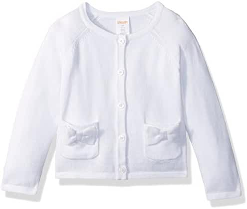 Gymboree Baby Boys' Toddler Girls' Cardigan Sweater with Bow Pockets