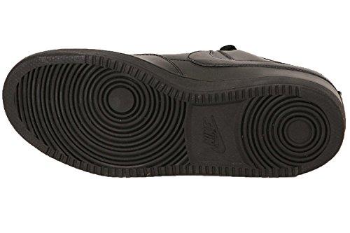 Nike Menns Alphaballer Lave Basketball Sko Sort / Hvit Svart / Svart-hvitt