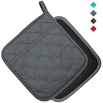 YEKOO Cotton and Neoprene Oven Pot Holder with Pocket 8