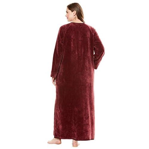Only Necessities Women\'s Plus Size Chenille Robe 80%OFF - ozcape ...