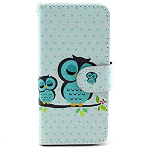 iPhone6 Plus Case, MOKOU Fashion B Style Pattern Design Wallet Case for iphone6 5.5Inch