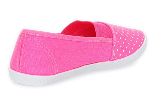 Cleostyle - Mocasines Mujer Neon Fuchsia