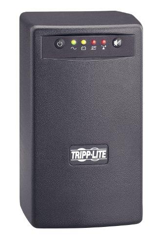 (Tripp Lite SMART550USB 550VA 300W UPS Battery Back Up Tower AVR 120V USB RJ11, 6  Outlets)