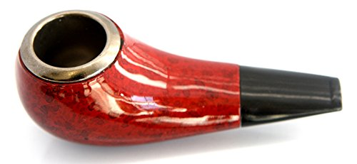 Small Shiny Tobacco Pipe